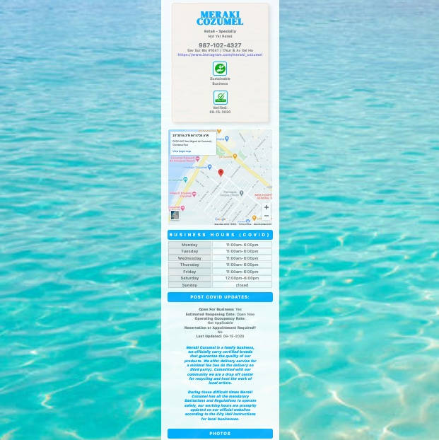 Directory Cozumel 2